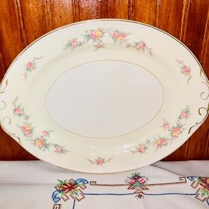 Antique Homer Laughlin Platter